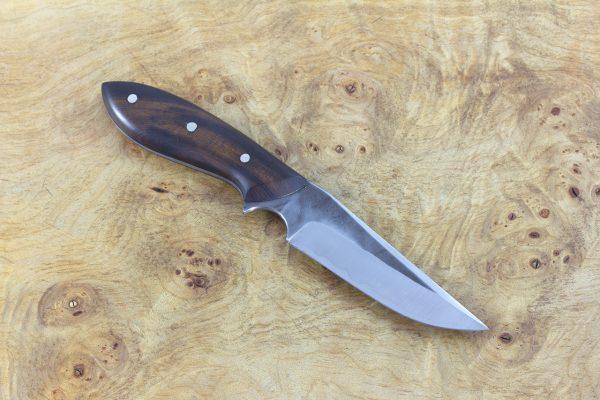 185mm Muteki Series Tombo Neck Knife #174, Ironwood - 82grams