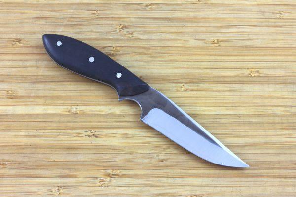 190mm Muteki Series Tombo Neck Knife #255, Ironwood - 84grams