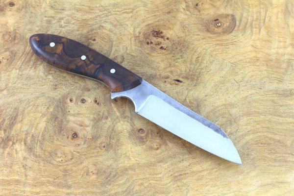 189mm Muteki Series Wharncliffe #320, Ironwood - 88 grams