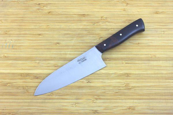 4.82 sun Muteki Series Wa-bocho Knife #296, Ironwood - 110 grams