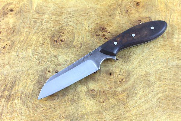 183mm Muteki Series Wharncliffe #310, Ironwood - 82 grams