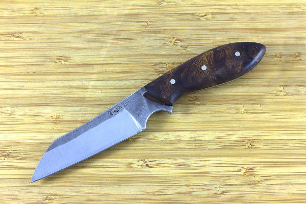 190mm Muteki Series Wharncliffe Brute #361, Ironwood - 102 grams