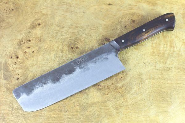 5.78 sun Muteki Series Nakiri #385, Ironwood - 193 grams