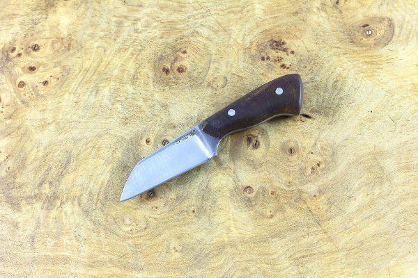 112mm Muteki Series Pipsqueak Wharncliffe Brute #415, Ironwood - 35 grams