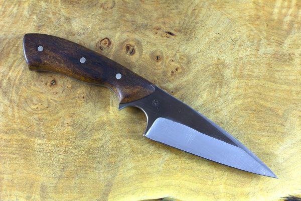 196mm Muteki Series Freestyle Pointy Wharncliffe #371, Ironwood - 100 grams