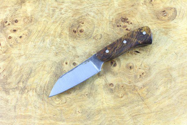 138mm Muteki Series Wharncliffe Brute #420, Ironwood - 46 grams
