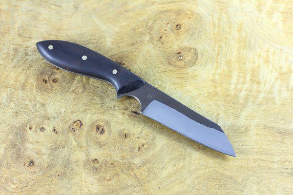 181mm Muteki Series Wharncliffe Brute #437, Ironwood - 72 grams