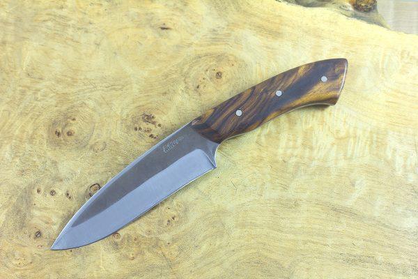 228mm Muteki Series Whitecrane Camp Knife #18, Ironwood - 151 grams