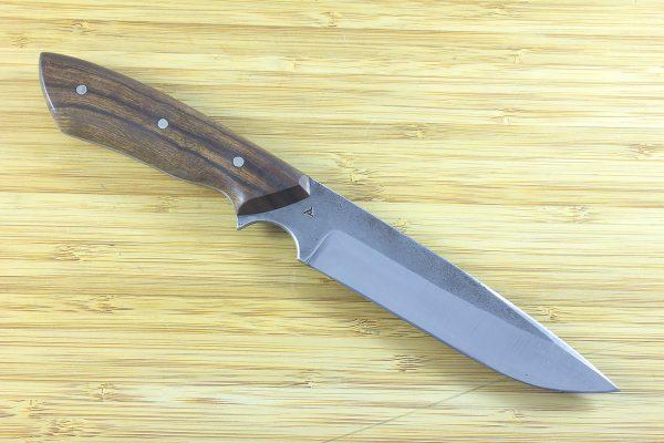 251mm Muteki Series Whitecrane Camp Knife #20, Ironwood - 151 grams