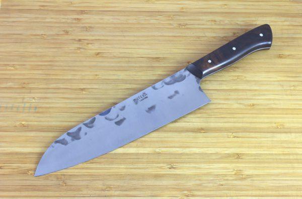 7.06 sun Muteki Series Wa-bocho Knife #261, Ironwood - 180grams