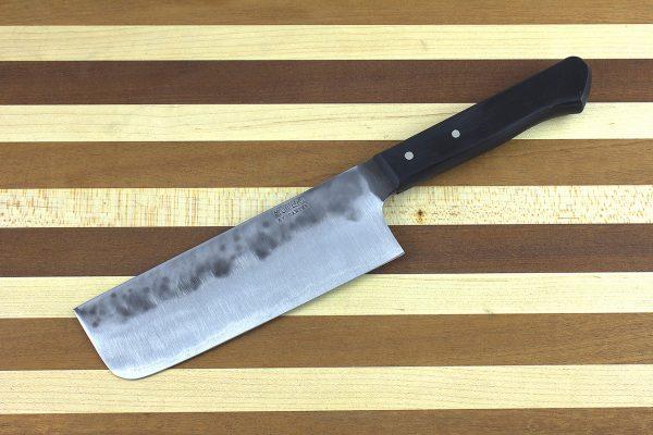 5.02 sun Muteki Original Series Nakiri #5, Riveted Handle - 149 grams