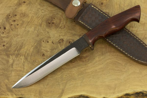 """*LIMITED* 287mm MOAB Outdoor Knife, Cocobolo, Special """"IT Industry"""" Guard - 182grams"""