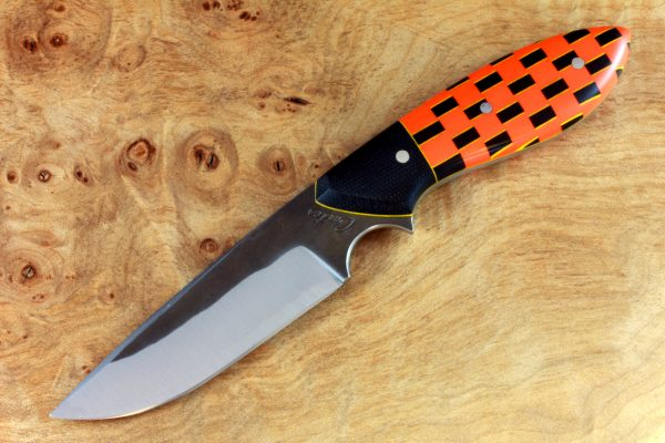 """189mm Murray's """"Perfect"""" Model Neck Knife, Forge Finish, Prototype Handle - 100grams"""