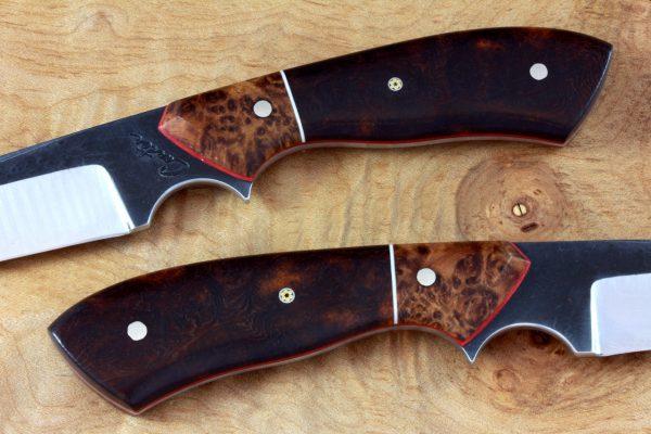 183mm Kuro-uchi Standback Neck Knife, Forge Finish, Prototype Handle - 80grams