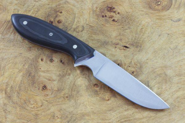 177mm Original Neck Knife, Forge Finish, Carbon Fiber - 77grams