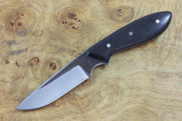 178mm Original Neck Knife, Forge Finish, Carbon Fiber - 79grams