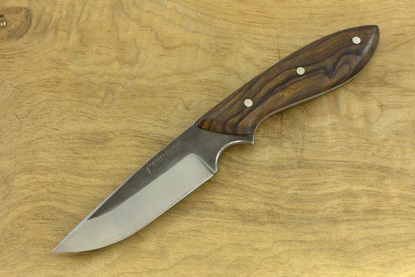 180mm Muteki Series Original Neck Knife, Forge Finish, Ironwood - 79grams #18