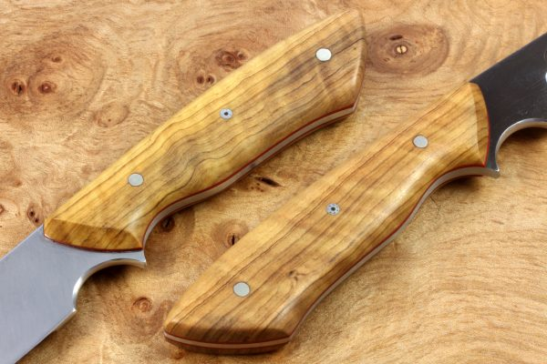 229mm Compact Whitecrane, Chisel Ground, Olivewood, 131grams