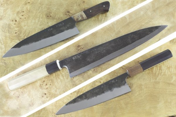 Custom Set featured in BLADE's Guide to Making Knives, 3rd Edition