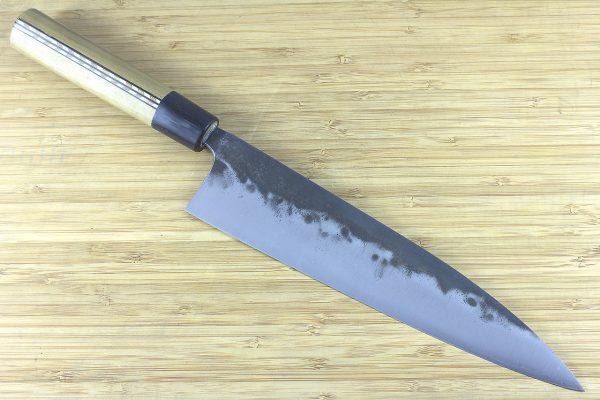 8.48 sun Kuro-uchi Series Gyuto, Traditional Handle - 193 grams