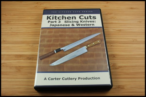 Kitchen Cuts: Part 3, Slicing Knives: Western & Japanese - DOWNLOAD