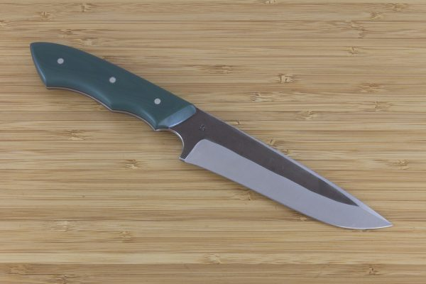 237mm Muteki Series FS1 #540, Green G10 w/ Black Liners - 156 Grams