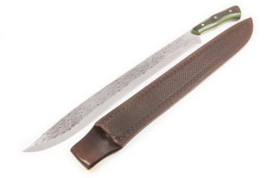 "19.41"" Master Smith #101 White/Stainless Machete"