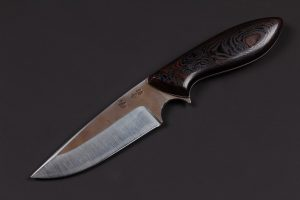 "3.58"" Muteki #2815 Perfect Neck Knife by Shamus"