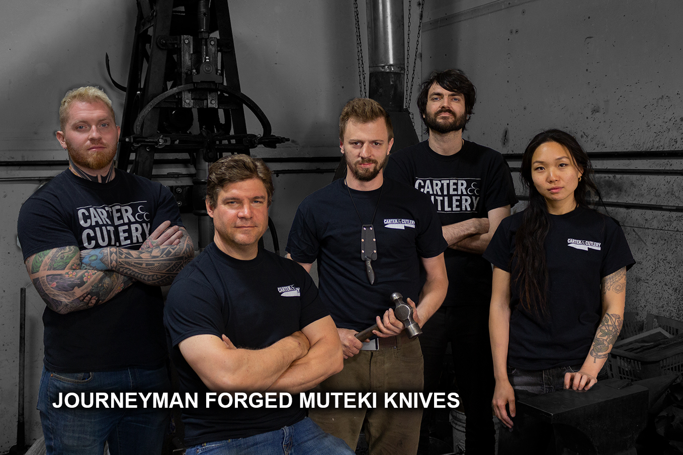 Journeyman Forged Muteki Knives