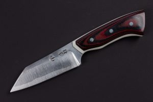 "2.56"" Muteki #3341 Freestyle Wharncliffe Neck Knife by Chloe"