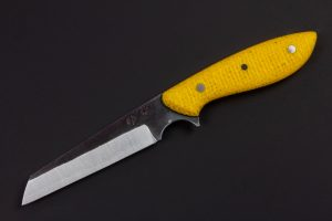 "3.39"" Muteki #3394 Freestyle Wharncliffe Neck Knife by Ryan"
