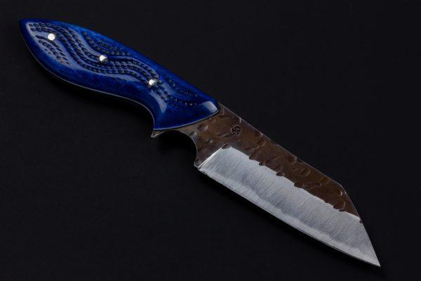 "3.82"" Muteki #3566 Freestyle Wharncliffe Brute Neck Knife by Shamus"