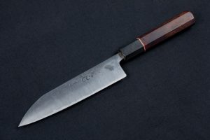 "6.26"" Carter #2272 Kurouchi Freestyle Kitchen Knife"