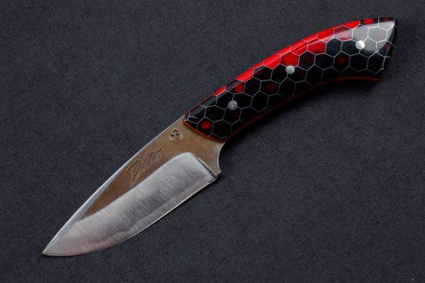 """2.95"""" Muteki #3930 Freestyle Neck Knife by Shamus"""
