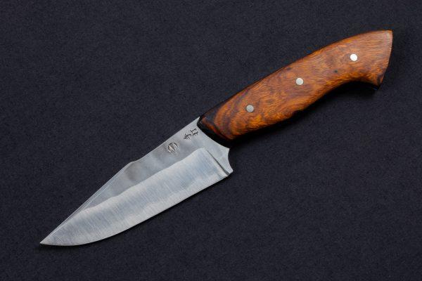 """3.78"""" Muteki #3944 Freestyle Sayan Kajiki Neck Knife by Dane"""