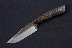 """3.9"""" Muteki #4118 Freestyle Kajiki Neck Knife by Adam"""
