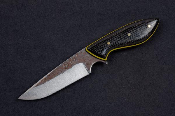 """3.74"""" Muteki #4159 Perfect Neck Knife by Adam"""